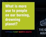 What is more use to people on our burning, drowning planet?
